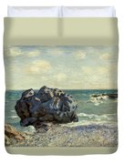 The Laugland Bay Duvet Cover by Alfred Sisley
