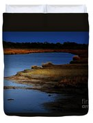 The Lay Of The Land Duvet Cover