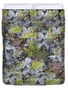 The Leaf Pile Duvet Cover