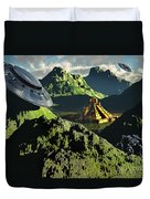 The Legendary South American Golden Duvet Cover by Mark Stevenson