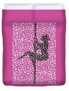 The Leopard Stripper Duvet Cover