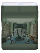 The Library, C.1820, Battersea Rise Duvet Cover