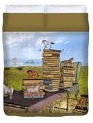 The Library Your Local Treasure Duvet Cover
