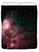 The Life And Death Of Stars Duvet Cover