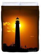 The Light Of Cape May Duvet Cover