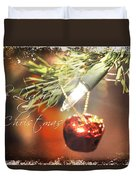 The Light Of Christmas Duvet Cover