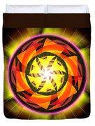 The Light Of Zen Duvet Cover