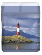 The Lighthouse At The End Of The World Duvet Cover