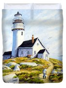The Lighthouse Keeper Duvet Cover