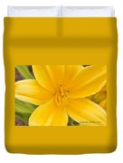 The Lily From Kentucky Duvet Cover