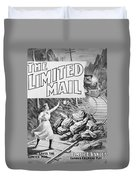 The Limited Mail, 1899 Duvet Cover