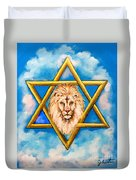 The Lion Of Judah #5 Duvet Cover