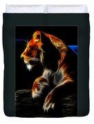 The Lioness Alt Duvet Cover