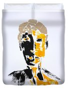 The Literary Man Duvet Cover