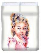 The Little Ballerina Duvet Cover