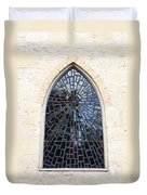 The Little Church Window Duvet Cover