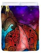 The Little Mermaid Duvet Cover by Mandie Manzano