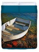 The Little Rowboat Duvet Cover