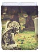 The Littlest Angel Duvet Cover
