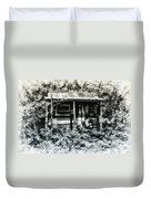 The Log Cabin Duvet Cover