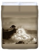 The Lone Cypress Midway Point Pebble Beach  Lewis Josselyn  Circa 1916  Duvet Cover