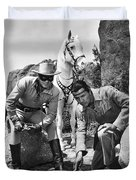 The Lone Ranger And Tonto Duvet Cover