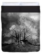 The Lonely Grave Duvet Cover