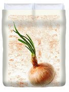 The Lonely Onion Duvet Cover