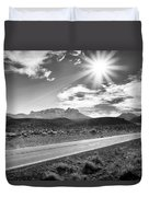 The Lonely Road Duvet Cover