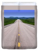 The Long Road Ahead Duvet Cover
