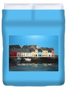 The Long Walk Galway Duvet Cover