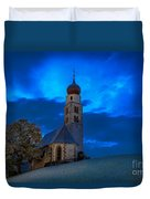 The Lord Is My Light - The Italian Dolomites Duvet Cover