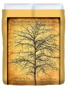 The Lord Jesus Is The Tree Of Life Duvet Cover
