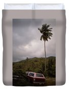 The Lost Cars Duvet Cover
