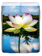 The Lotus Blossom Duvet Cover