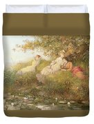 The Lotus Eaters, 1893 Duvet Cover