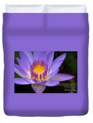 The Lotus Flower - Tropical Flowers Of Hawaii - Nymphaea Stellata Duvet Cover