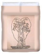 The Love And Celebration Of The Maple Tree Family Duvet Cover