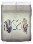 The Love Of A Ballerina Duvet Cover