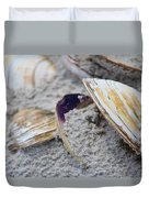 Shells In The Sand Duvet Cover