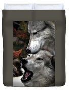 The Love Of Your Mate Duvet Cover