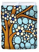 The Loving Tree Duvet Cover by Sharon Cummings