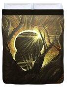 The Luminous Eclipse  Duvet Cover