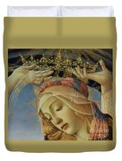 The Madonna Of The Magnificat Duvet Cover by Sandro Botticelli