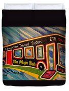 The Magic Bus Duvet Cover
