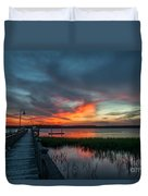 The Magic Hour Duvet Cover