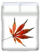 The Magical Colors Of Fall Duvet Cover