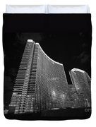 The Magnificent Aria Resort And Casino At Citycenter In Las Vegas Duvet Cover