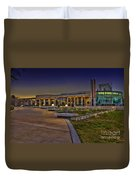 The Mahaffey Theater Duvet Cover by Marvin Spates
