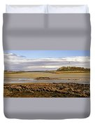 The Maine Coast Duvet Cover by Skip Willits